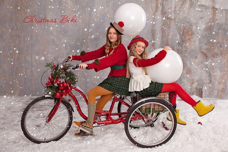 Детские фотопроекты - Вело - Рождество