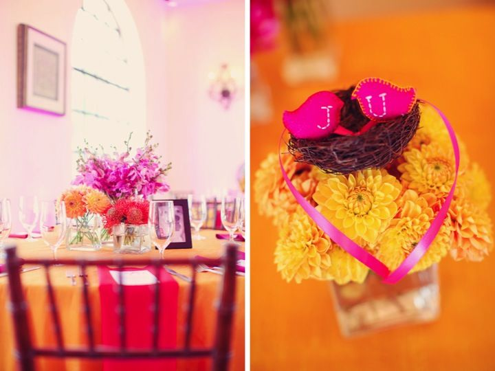 Fuschia And Orange Wedding Invitations: 70 Best Hot Pink And Orange Party Images On Pinterest