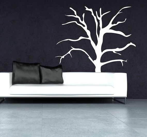 Wall decal TREE 190 cm x 186 cm loony bin by LoonyBinWorkshop