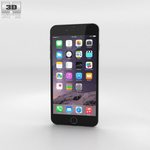iphone p a model iphone 6 plus 3d model from humster3d price 40 gadgets 3d models 3d