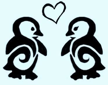 penguin tattoo photo: penguin Penguin_Tattoo_design_by_Asenceana.jpg #Christmas #thanksgiving #Holiday #quote