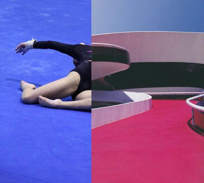 Zoë Croggon's choreography through collage - noelle faulkner, writer & editor