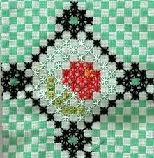 Resultado de imagen para bordado xadrez graficos
