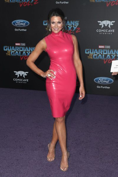 """Actor Cerina Vincent at the premiere of Disney and Marvel's """"Guardians Of The Galaxy Vol. 2"""" at Dolby Theatre on April 19, 2017 in Hollywood, California."""