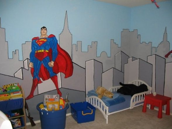 Comics room decoration zone boys 39 room designs for 4 yr old bedroom ideas