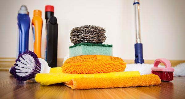 The cleaning supplies you use to sanitize things in your life also need to be cleaned. This keeps them in the best shape to clean when they are supposed to.