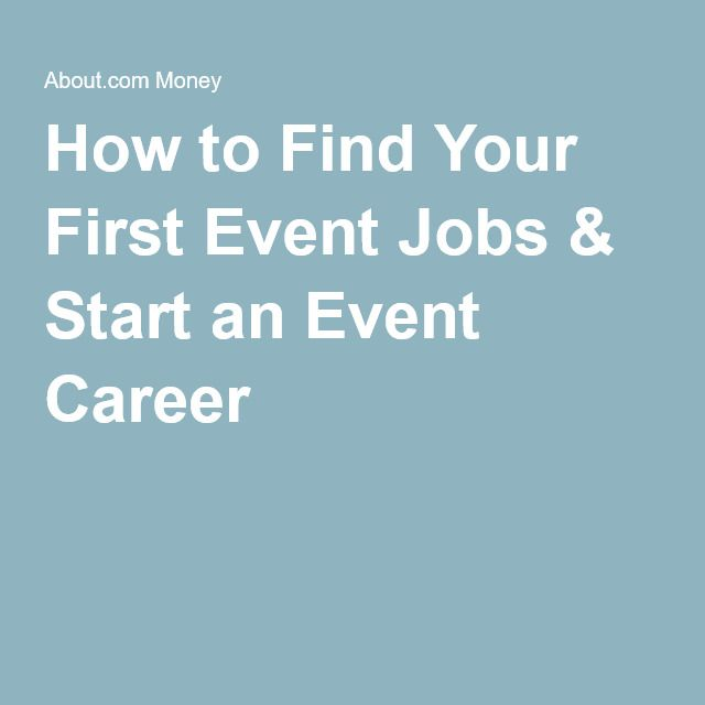 How to Find Your First Event Jobs & Start an Event Career