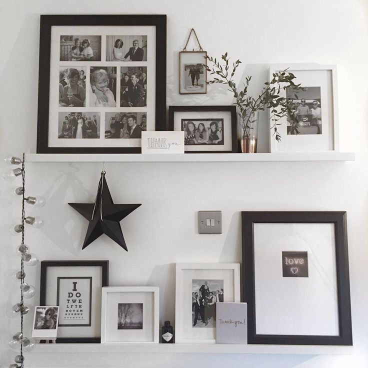 Mono Picture Ledge Shelfie | Interiors