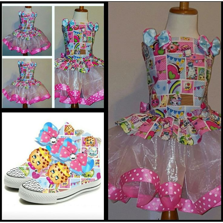 Limited Edition Shopkins Costume Corset Shoe Set