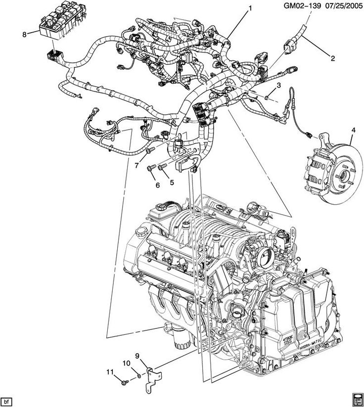 Cadillac Seville Sts Engine Parts Diagram