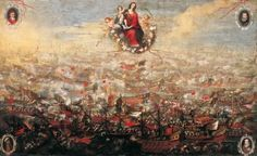 La batalla de Lepanto, de Juan de Toledo