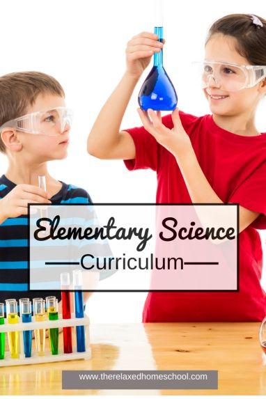 Homeschool Elementary Science curriculum choices. #homeschool