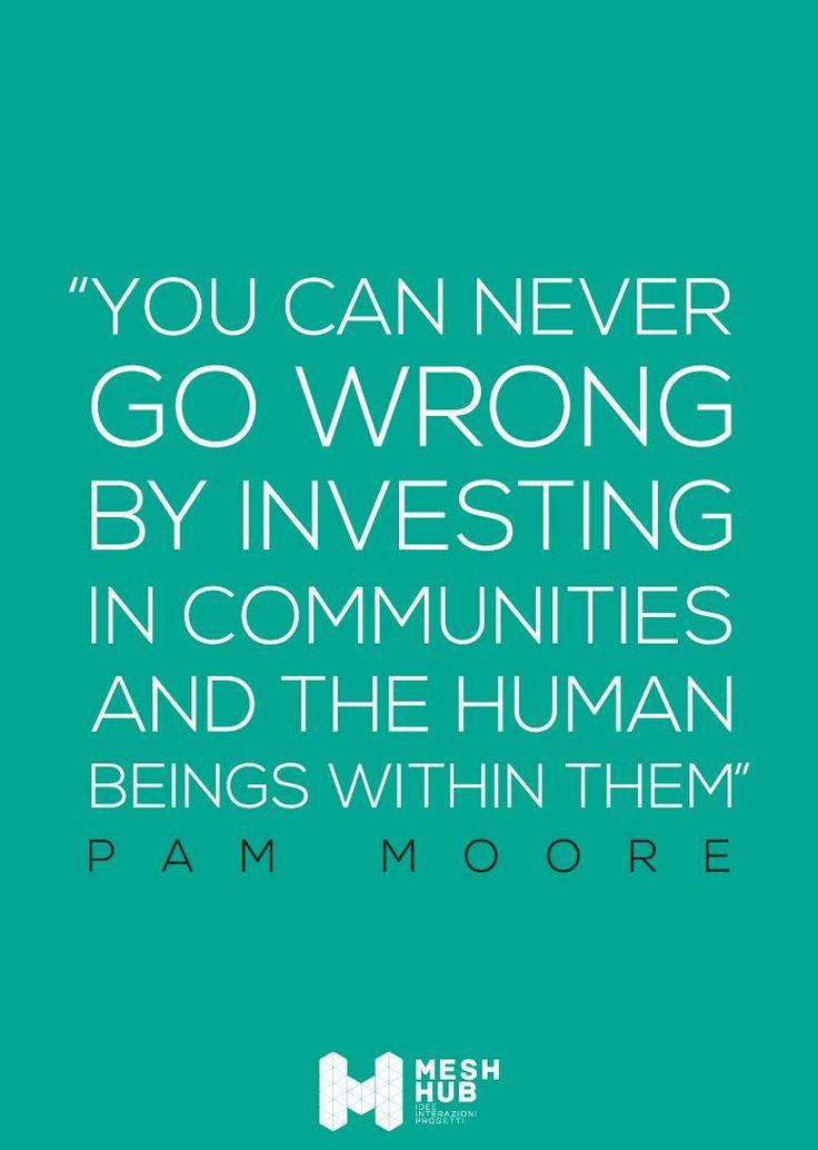 Pam Moore – marketing and social media specialist #meshhub #ideeinterazioniprogetti #rete #costruttoridiponti #community #social
