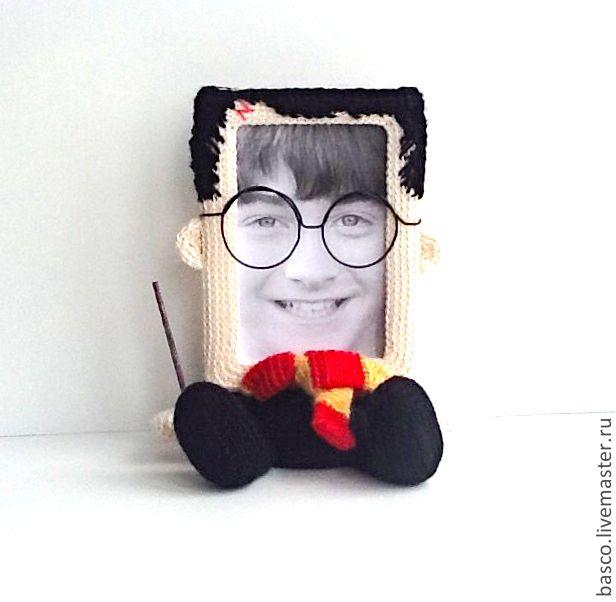 "Купить Фоторамка ""Гарри Поттер"" - фоторамка, рамка для фото, подарок мужу, мальчику, ребенку"