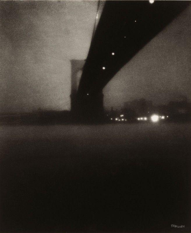 Steichen Η γέφυρα του Μπρούκλιν, 1903