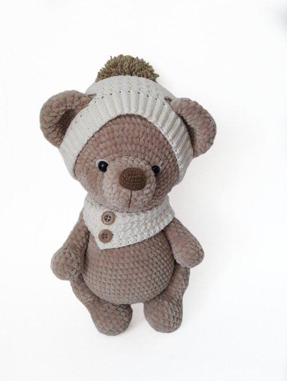 urso Amigurumi no Elo7 | Ateliê Solange Freitas (E07171) | 758x570