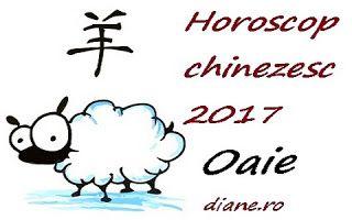 Horoscop chinezesc Oaie 2017
