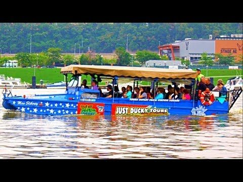 Just Ducky Tours - Pittsburgh Amphibious Ride 2013. I love the Ducky Boat tours!