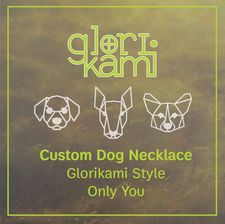 Custom Dog Necklace, Dog Pendant, Dog Breed, Pet Jewelry, Personalized Pet Necklace, Dog Memorial Gift, Birthday gift, Gift under 25 by glorikamishop on Etsy