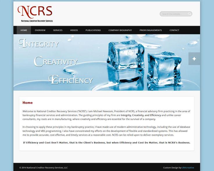Custom designed and developed website for National