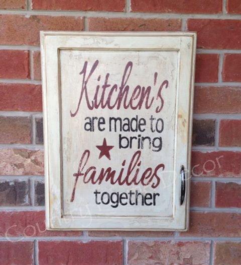 Painted Vintage Kitchen cupboard Door
