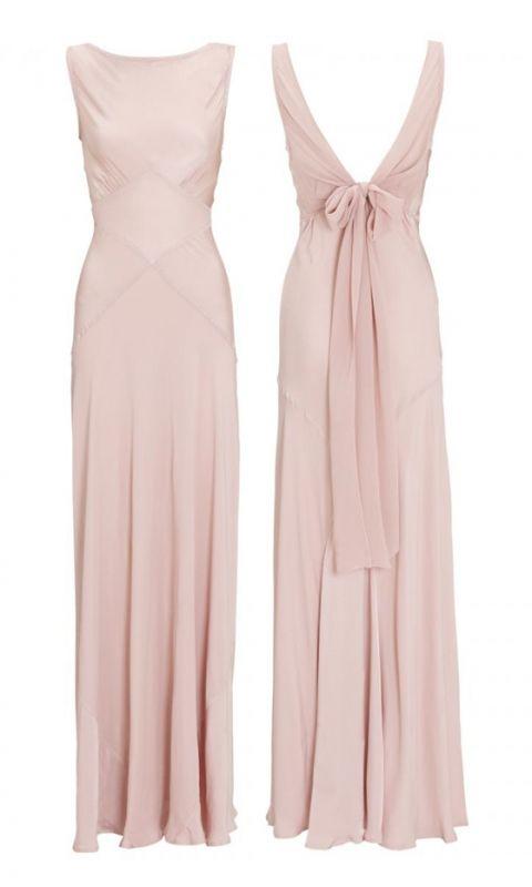 Millie Mackintosh's Wedding: The 'Chelsea' Boudoir Pink Bridesmaids Dress, £195