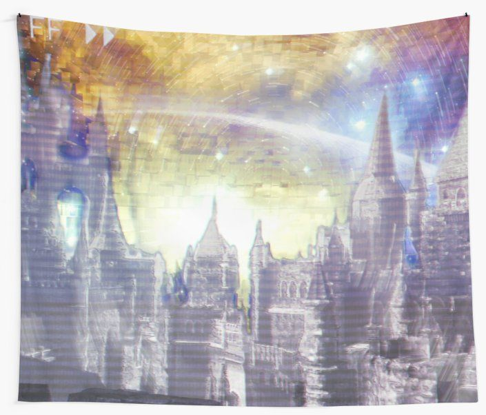 Glitched wall of Lothric on #Redbubble - #DarkSouls3 #DarkSoulsIII #DarkSouls #Lothric #glitch #GlitchArt #fantasy #medieval #castle