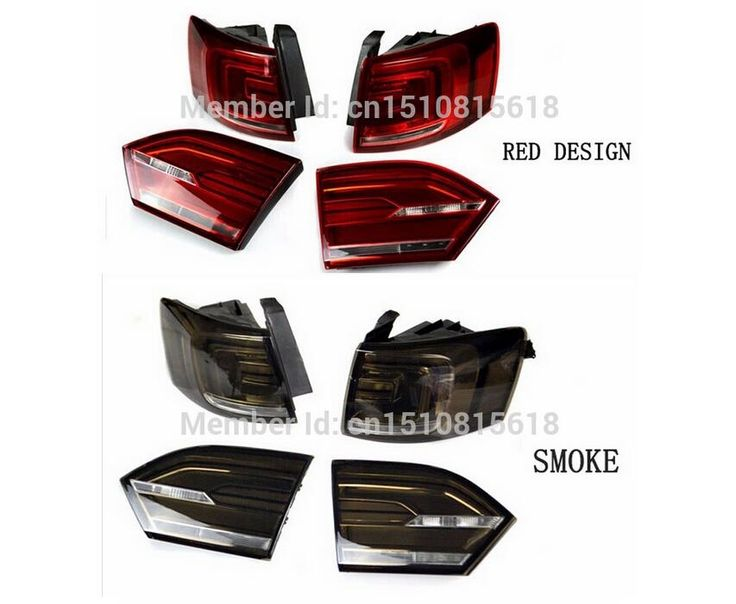 406.98$  Buy here - http://alizov.worldwells.pw/go.php?t=32744304718 - for Jetta tail lights VW Jetta led tail light Mk6 lamp drl rear trunk lamp cover signal+brake+reverse Car Styling LED Tail Lamp