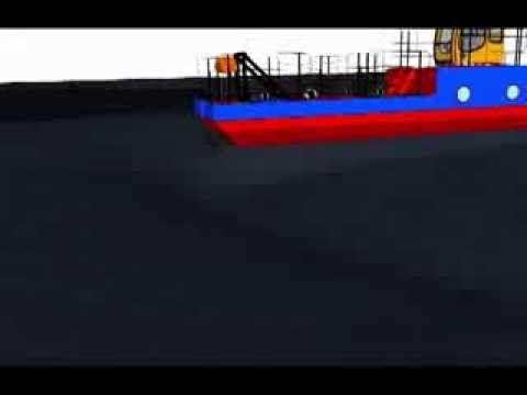 Шнеково-винтовой способ добычи сапропеля естественной влажности с обезвоживанием в контейнерах - геотубах и резервным накоплением сырья в складах-отстойниках. Последующая переработка смеси сапропеля естественной влажности и обезвоженного в геотубах сапропеля до требуемого значения в сыпучие удобрения и кормовые добавки. Расфасовка продукции в мягкие контейнеры и открытые мешки. Производительность комплекса - до 17 тыс. м3/год.