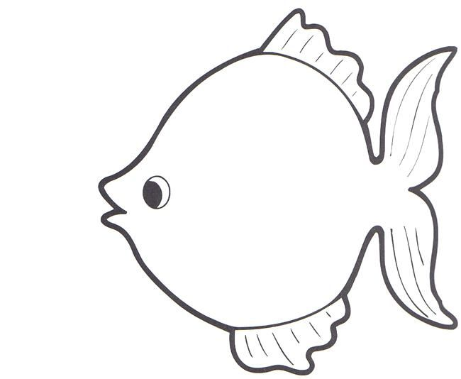 Best 25 Rainbow fish template