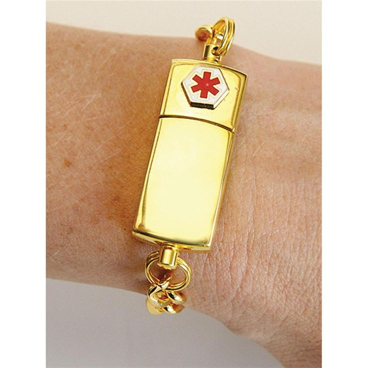 Md Alert Medical Bracelet Usb Drive Usb And Memories