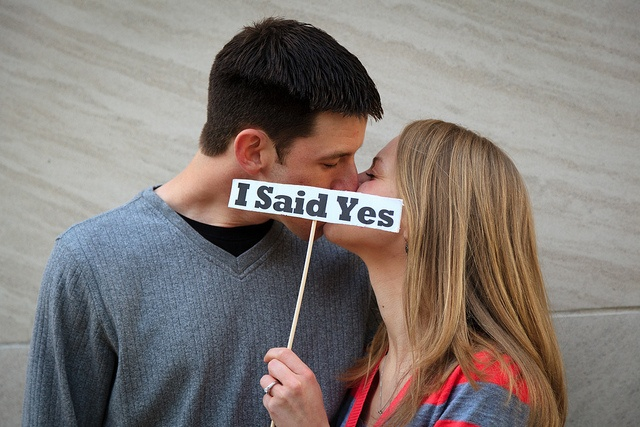 #Engagement Photography creative #props !, #ido
