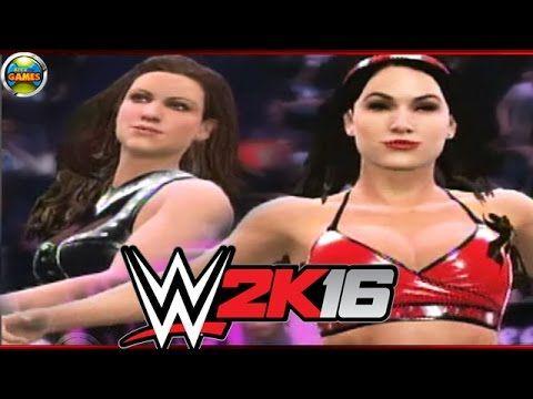 WWE 2K16 Stephanie McMahon vs Brie Bella