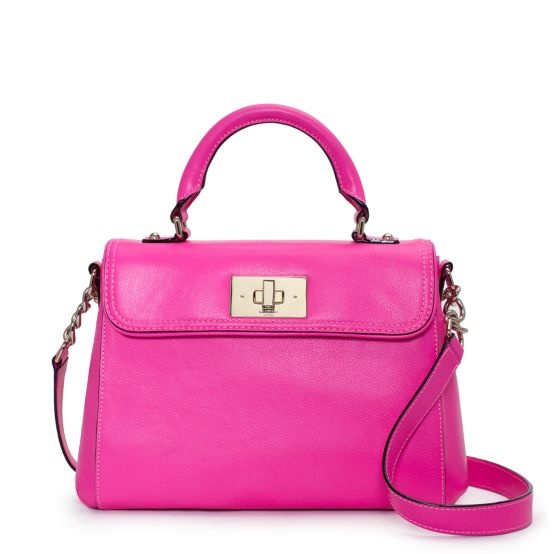 I NEED this Kate Spade Bag!!!: Fashion,  Postbag, Color, Irving Places, Pink Bags, Leather Handbags, Hot Pink, Kate Spade, Katespade