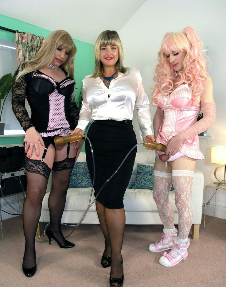 Milking. Sissies are trained to come on mistress command