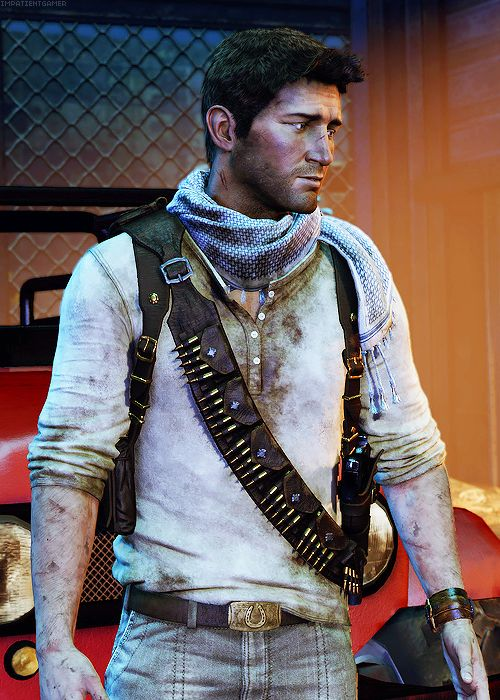 Nathan Drake | Uncharted...  I'm going to have to start playing this game.