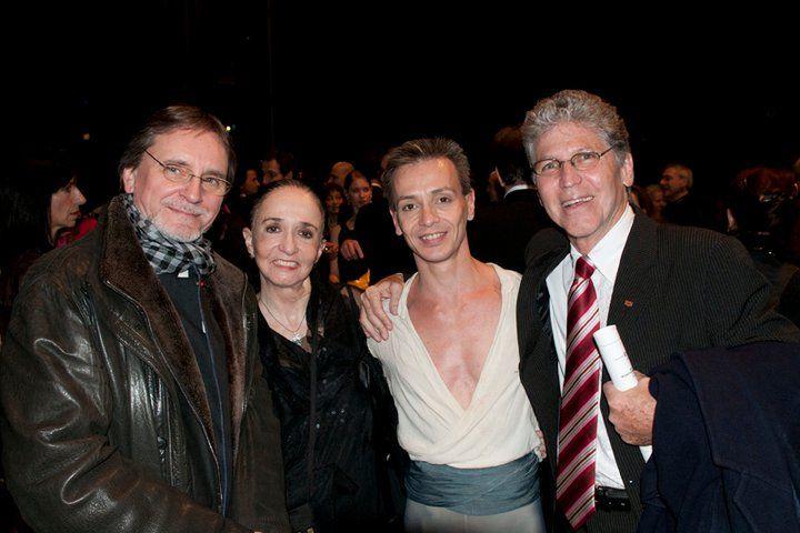 Jiri Kilian, Marcia Haydée, Luis Ortigoza and Richard Cragun