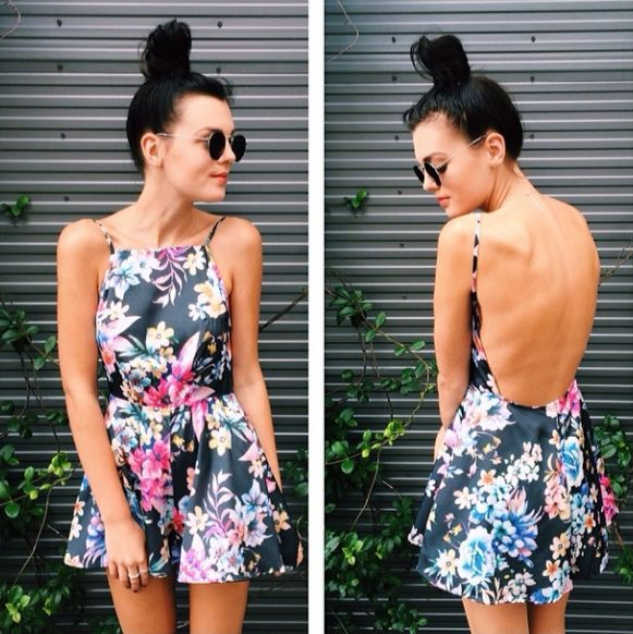THINGS TO SAY PLAYSUIT $60