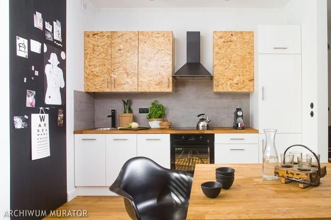 Znalezione Obrazy Dla Zapytania Kuchnia Z Plyty Osb Kitchen Dining Room Kitchen Cabinets Osb