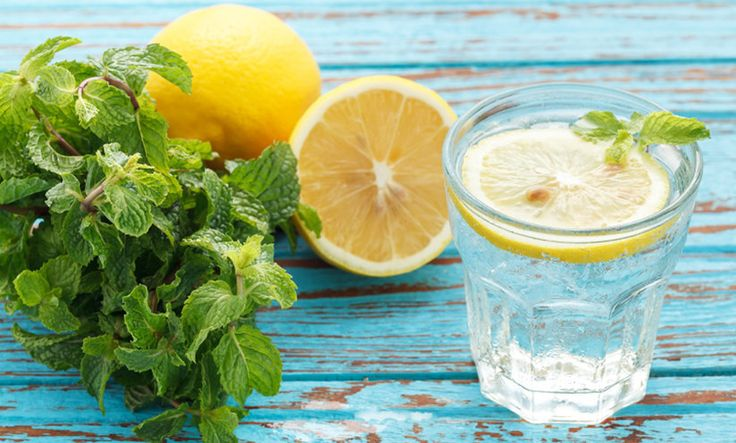 Step 1: Start drinking lemon water (if you're not already!).