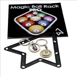 Magic Ball Rack Pro™ Pool Ball Racking System (2 Templates)