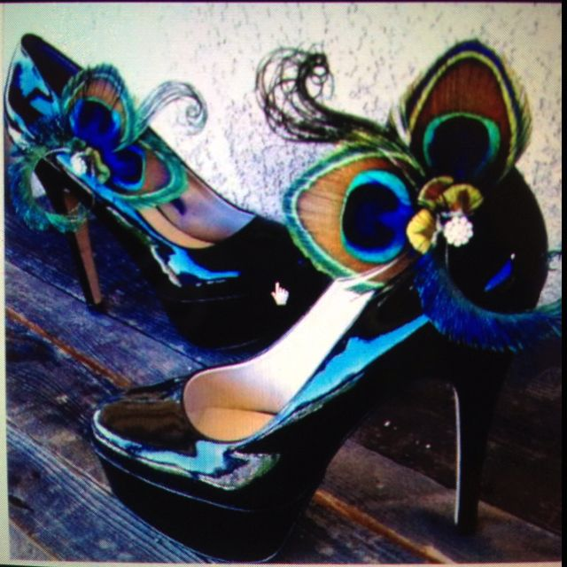 Peacock Wedding Shoes Etsy