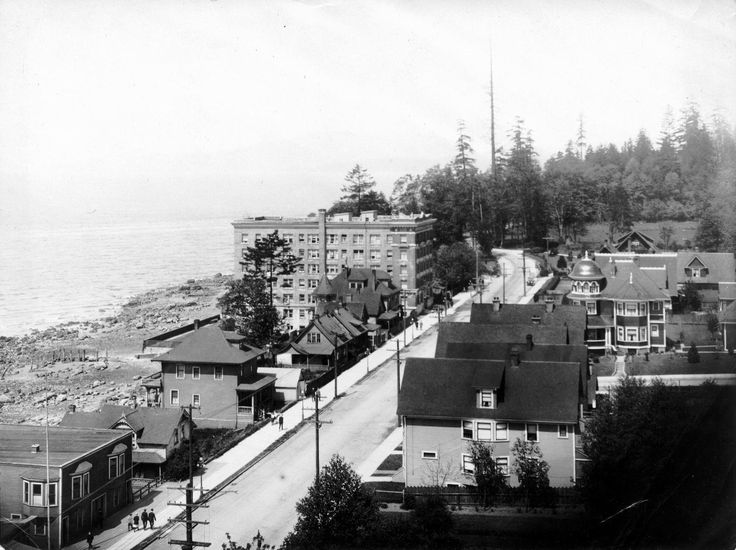 View from the Sylvia Court Apartments, May 18, 1913