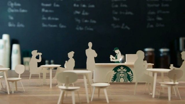 The path of a cup of Starbucks coffee