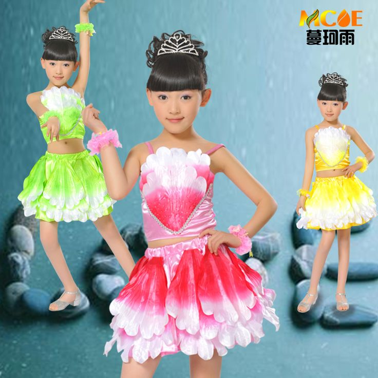 Child children's dance costume performance wear ballet skirt female child dance performance wear Free shipping en Ballet de Creativa y Especial en AliExpress.com | Alibaba Group