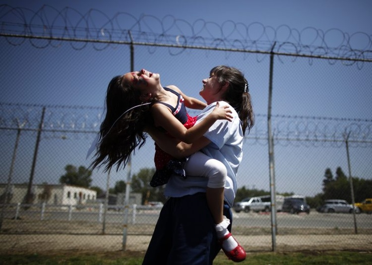 Image result for mother daughter prison visit