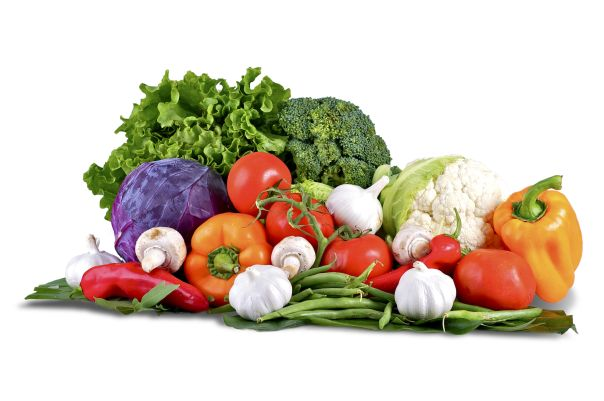 Non-starchy vegetables Artichokes, beetroot, turnip, carrots, summer squash, bell peppers, tomatoes, leeks, onions, eggplant, cucumber, celery, broccoli, cauliflower, cabbage (green, red, Savoy, Chinese), Brussels sprouts, green beans, asparagus, okra, radishes, sugar snap peas, mushrooms