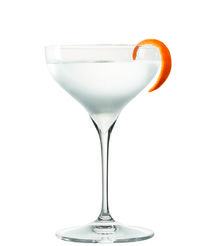 The Showstopper - Tangerine vodka and a lot of citrus 'squirts.' It's a simple, fun, good-for-you vodka martini, what' not to love?