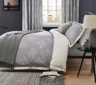 Buy Woodblock Leaf Cotton Rich Print Bed Set from the Next UK online shop