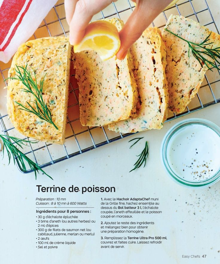 Terrine de saumon Tupperware
